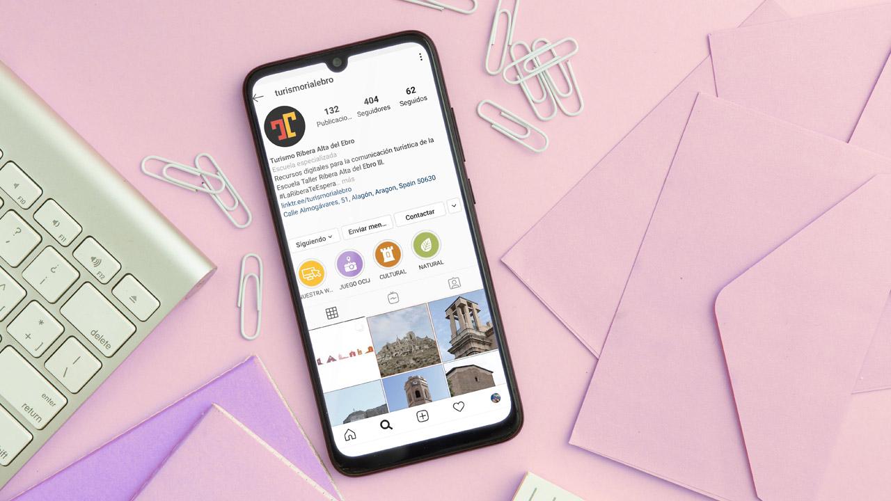 Gestión de redes sociales Turismo Ribera Alta del Ebro