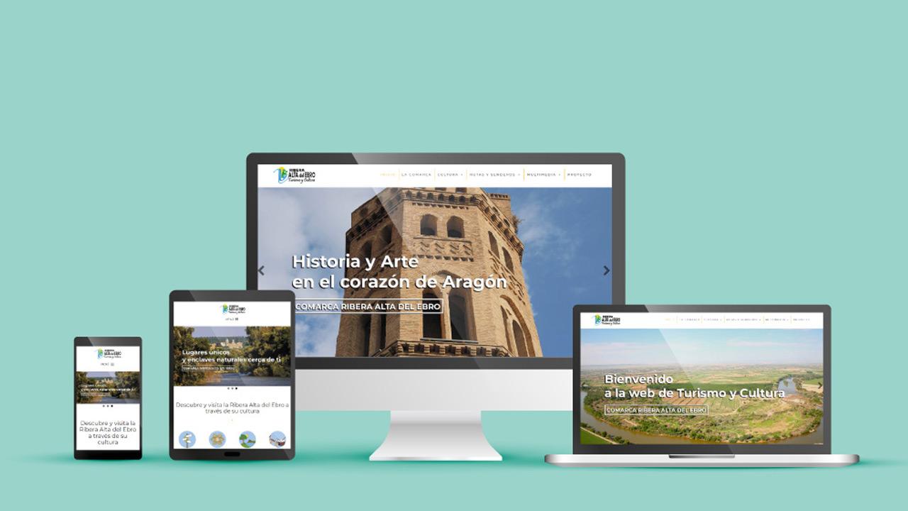 web de turismo y cultura ribera alta del ebro.